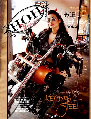 Hell on Heels March Issue#6 Lace and Leather Vol.2