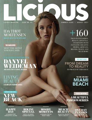 Licious Magazine #1 issue