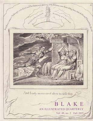 Blake/An Illustrated Quarterly vol. 49, no. 2 (fall 2015)