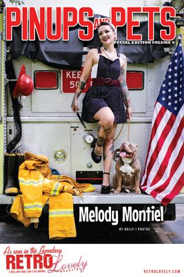 Pinups & Pets Vol. 9 – Melody Montiel Cover Poster