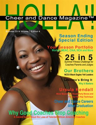 HOLLA'! Cheer & Dance Magazine Summer 2014 Issue
