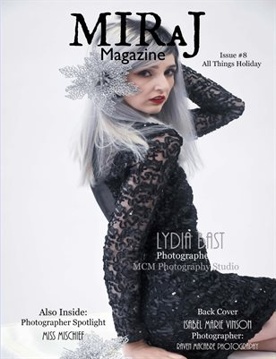 Miraj Magazine- Issue #8 - All Things Holiday - Danii cover