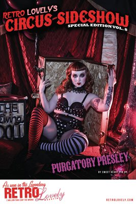 Circus & Sideshow 2021 Vol.8 – Purgatory Presley Cover Poster