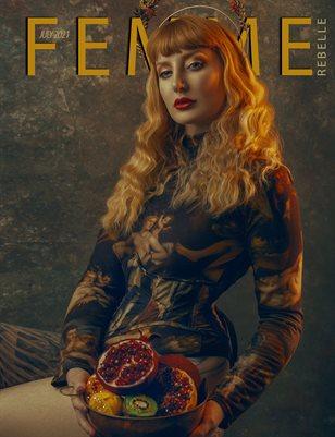 Femme Rebelle Magazine July 2021 REGULAR ISSUE - Newo Cover