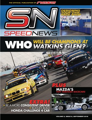 NASA Speed News September Issue 2016