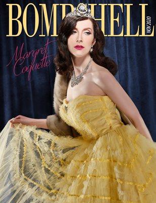 BOMBSHELL Magazine November 2020 - Margret Coquette Cover