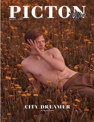 Picton Magazine AUGUST 2019 MEN N223 Cover 2