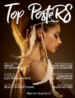 TOP POSTERS MAGAZINE - MARCH,FINEART (Vol 228)