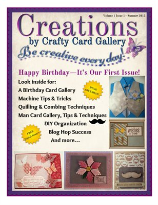 Creations by Crafty Card Gallery - issue 1