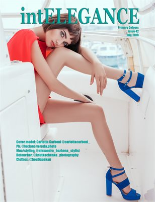 intElegance magazine issue 42, July 2018 - Primary Colours