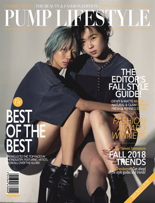 PUMP Lifestyle - The Beauty & Fashion Edition | October 2018 | VXVII