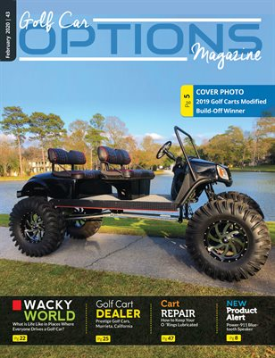 Golf Car Options Magazine - February 2020