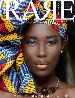 Rare Fashion Magazine June issue
