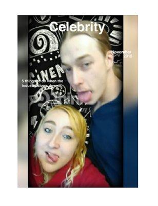 "Celebrity Magazine ""November 2015"""