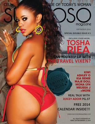 Succoso Magazine Double Issue #5 ft Cover Model Tosha Riea