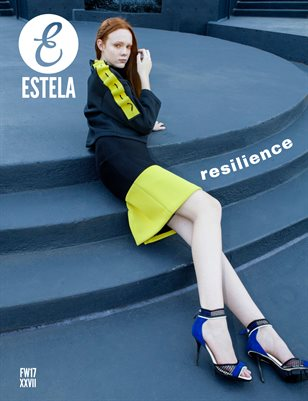 Estela Magazine: #FW17 - Resilience Issue - Cover 1
