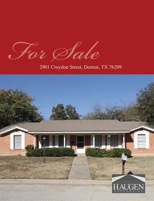 Haugen Properties -  2901 Croydon Street, Denton, Texas 76209