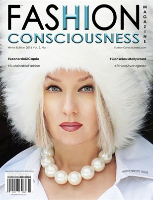 FASHION CONSCIOUSNESS Magazine - White Edition  I  Authenticity Issue 2015-2019