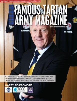 Famous Tartan Army Magazine Issue 13