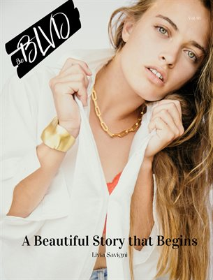 The Blvd Magazine Volume 61 Featuring Livia Savigni