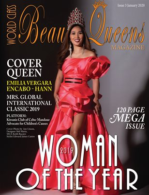 World Class Beauty Queens Magazine Issue 3 2019 Woman of the Year