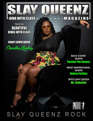 Slay Queenz Magazine Vol.8 Diva With Class