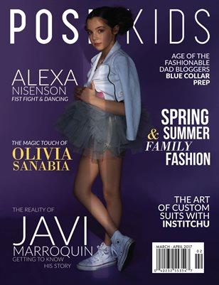 Posh Kids Magazine March/April 2017 - Alexa Nisenson