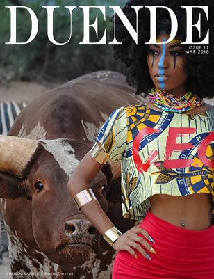 Duende Magazine _ Issue 11_Red Issue_Alt Cover