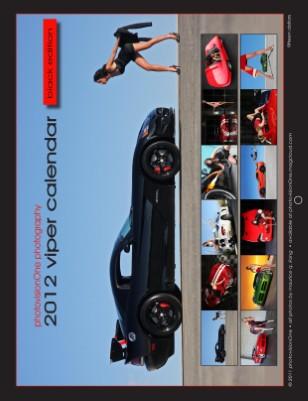 2012 Viper Calendar - Black Edition