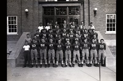 Sept. 18, 1946 Mayfield High School Football Squad In Red Jerseys2