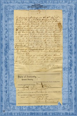 1863 deed Edmund G. Thomas- J.T. Cartwright