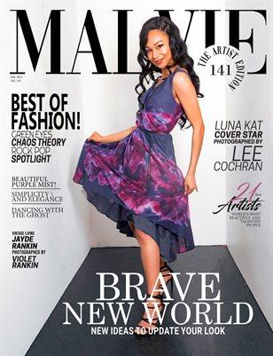 MALVIE Magazine The Artist Edition Vol 141 February 2021