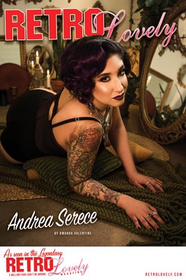Andrea Serece Cover Poster