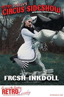 Circus & Sideshow 2021 Vol.6 – Fresh Inkdoll Cover Poster