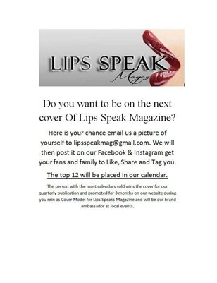 Lips Speak Magazine Calender 2015