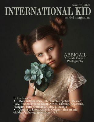 International Kid Model Magazine Issue #76