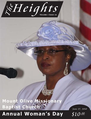 Volume 1 Issue 20 - June 27, 2010