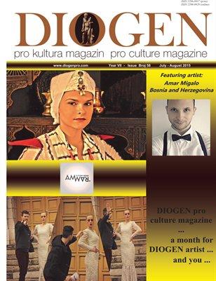 DIOGEN pro art magazine No 58...July - August 2015