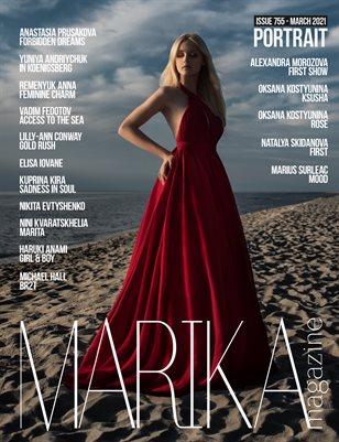 MARIKA MAGAZINE PORTRAIT (ISSUE 755 - MARCH)