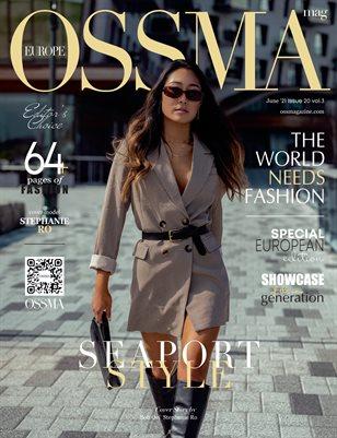 OSSMA Magazine EUROPE ISSUE20, vol5