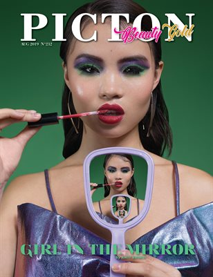 Picton Magazine AUGUST 2019 Beauty GOLD N232 Cover 1
