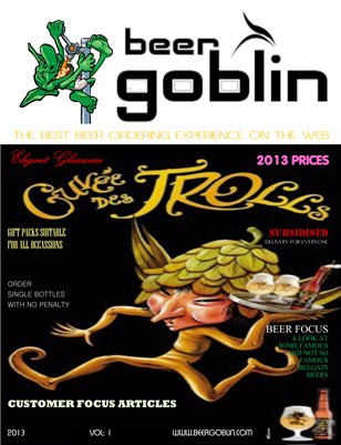 Beer Goblin Product Cataloge
