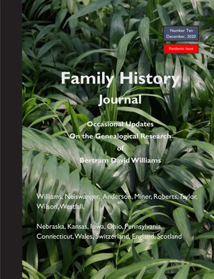 Family History Journal Ten