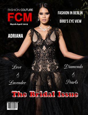 "Fashion Couture Magazine ""Bridal Issue"" Vol.2 No.9"