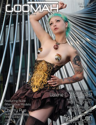 Goomah Magazine - August 2012 - Cover Two