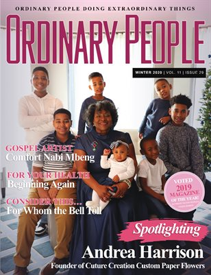 ORDINARY PEOPLE Magazine - Winter 2020 | Vol 11 | Issue 29