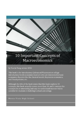 10 Important Concepts of Macroeconomics (small)