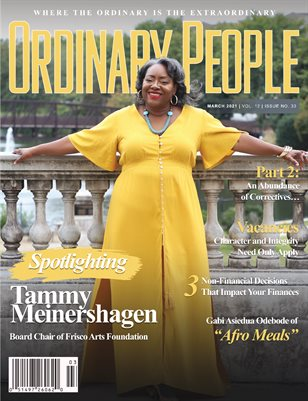 ORDINARY PEOPLE | March 2021 | Vol 12 | Issue 33 (#2)