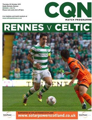 CQN Rennes v Celtic Programme