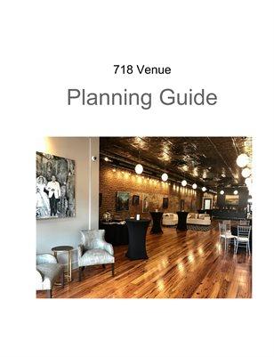 718 Venue Guide